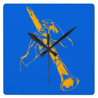 El azul anaranjado del vintage da el Clarinet Benn Relojes
