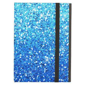 El azul brilla textura de las chispas