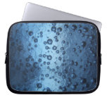 El azul burbujea bolso del ordenador portátil mangas computadora
