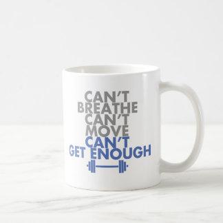 "El azul ""consigue bastantes "" taza de café"
