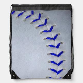 El azul cose béisbol/softball mochilas
