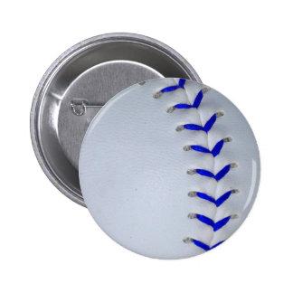 El azul cose béisbol/softball pins