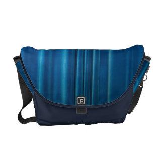 El azul cubre bolsas de mensajería