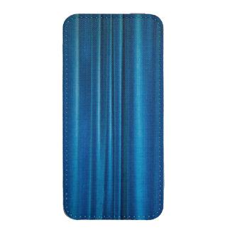 El azul cubre bolsillo para iPhone