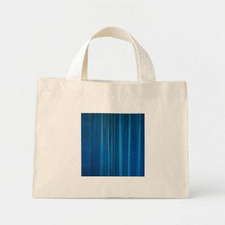 El azul cubre bolsa tela pequeña