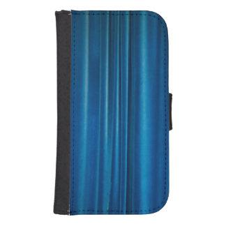 El azul cubre fundas billetera para teléfono