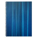 El azul cubre libretas espirales