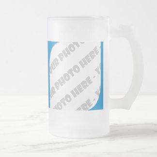 El azul curva a Stein helado foto - cree sus los Taza De Cristal