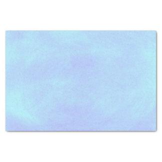 El azul de cielo del bebé mezcla el papel seda papel de seda pequeño