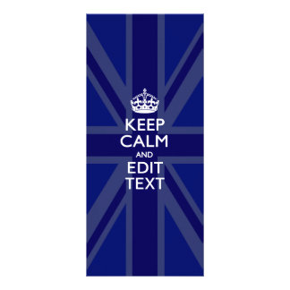 El azul de medianoche guarda la calma y su texto plantilla de lona