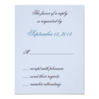 El azul de William Morris sale de casar las Invitacion Personalizada