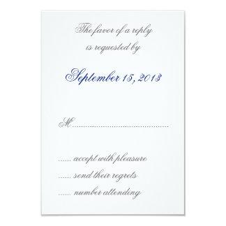 El azul de William Morris sale de casar las Invitaciones Personalizada