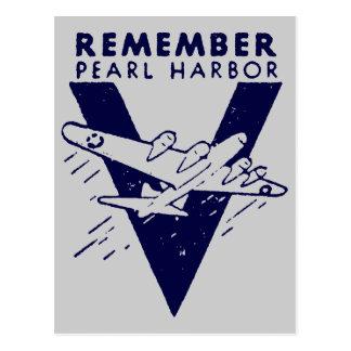 El azul de WWII recuerda el Pearl Harbor Postal