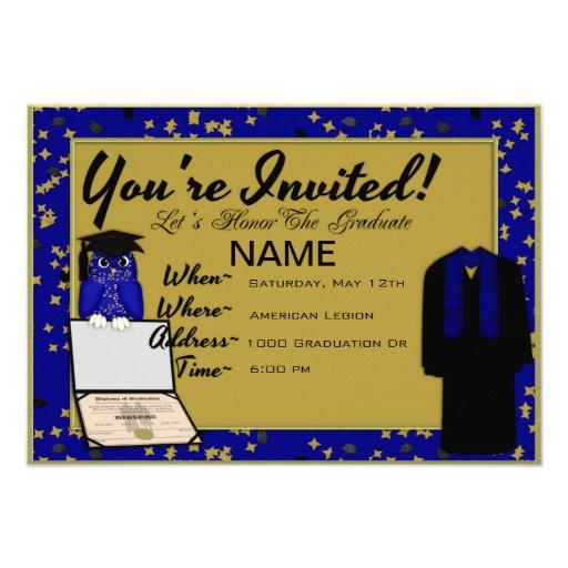El azul del vestido y de la estola de la graduació anuncio