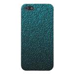 El azul descolorado vetea la caja del iPhone iPhone 5 Cobertura