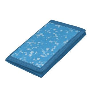 El azul dispersado circunda el modelo