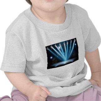 El azul enciende concepto camisetas