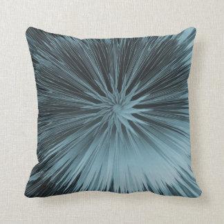 El azul escarchado estalló la almohada de Mojo del