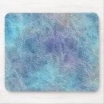 El azul fresco calmante abstracto colorea Mousepad Alfombrillas De Ratón