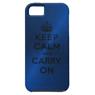 El azul guarda calma y continúa iPhone 5 cobertura