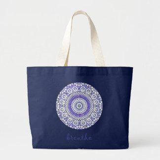 el azul hermoso respira el bolso de la yoga bolsa
