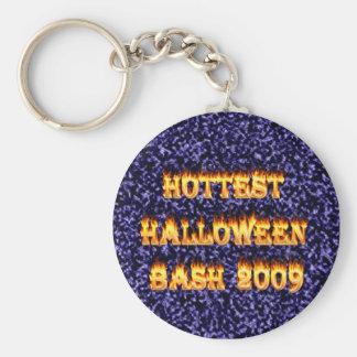 El azul más caliente del golpe 2009 de Halloween Llaveros Personalizados