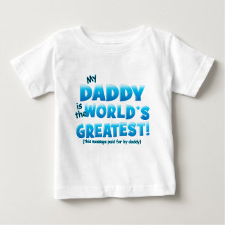 El azul más grande del papá de los mundos playera