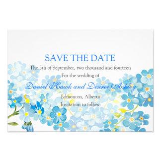 El azul me olvida no reserva el boda del jardín de comunicados personales