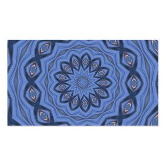 el azul modela la frecuencia intermedia tarjetas de negocios