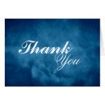 El azul profundo le agradece felicitaciones