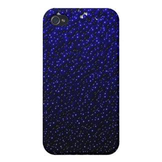 El azul real descolorado vetea la caja del iPhone iPhone 4 Funda