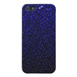 El azul real descolorado vetea la caja del iPhone iPhone 5 Funda