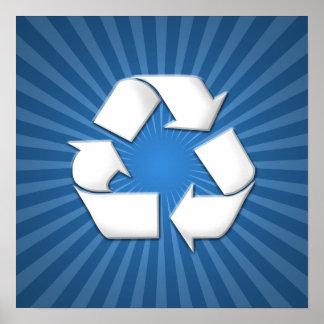 El azul recicla el poster 001