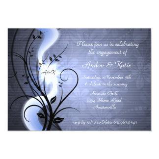 El azul remolina invitación