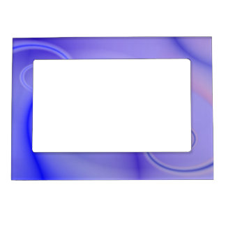 El azul remolina marco magnético marcos magneticos para fotos