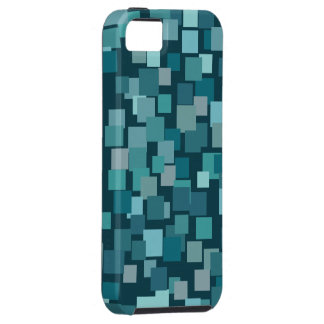 El azul retro ajusta la casamata del iPhone 5 iPhone 5 Case-Mate Fundas