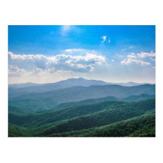 El Azul-Ridge asombroso Postales