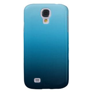 El azul se descolora las cajas del teléfono funda para galaxy s4