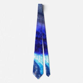 El azul se descolora lazo para hombre corbatas
