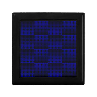El azul Se descolora-lejos caja de la baratija Joyero Cuadrado Pequeño
