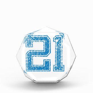 El azul se divierte Jerzee número 21