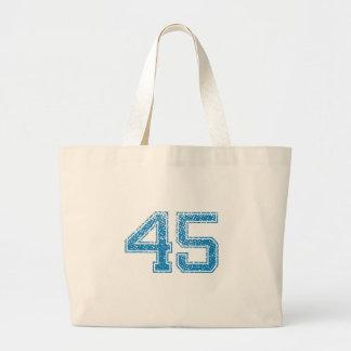 El azul se divierte Jerzee número 45 Bolsa