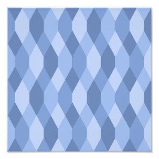 El azul sombrea el modelo del Rhombus y del Cojinete