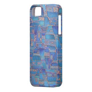 El azul tiene gusto de Klee iPhone 5 Cárcasas