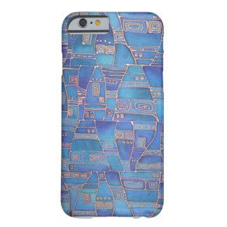 El azul tiene gusto de Klee Funda De iPhone 6 Barely There