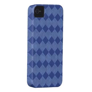 El azul veteado ajusta la caja de la casamata del  Case-Mate iPhone 4 funda