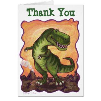 El B-Día del dinosaurio de TRex le agradece cardar Tarjetón