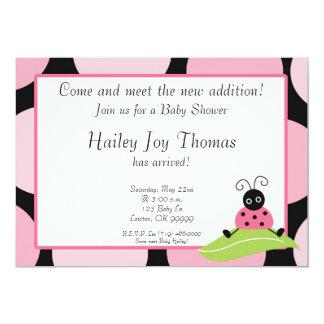 ¡el babysh, viene resolver la nueva adición! , invitación personalizada