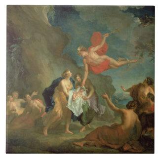 El Bacchus infantil entregado por Mercury al Nym Azulejo Cuadrado Grande