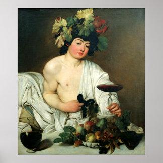 El Bacchus joven, Caravaggio Póster